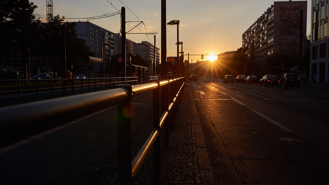 Berlin in der Abendsonne