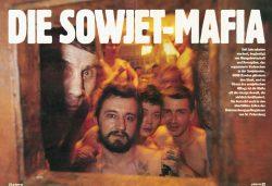 Die Sowjet-Mafia - auf die Essenausgabe wartend konnte Hans-Jürgen Burkard diese Häftlinge beim Öffnen der Durchreiche fotografisch festhalten.