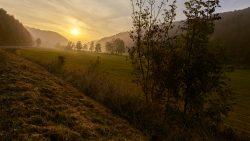 Sonnenaufgang Schwäbische-Alp