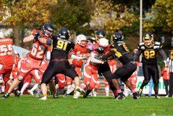 American football, Bulldozer VS Mammuts